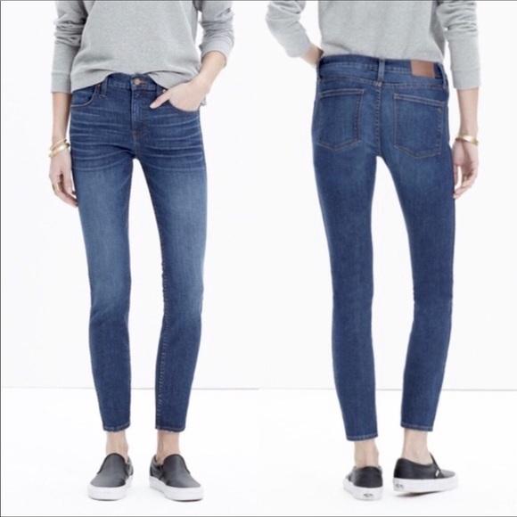 "Madewell Denim - Madewell 9"" High Rise Skinny Skinny Crop Jeans"